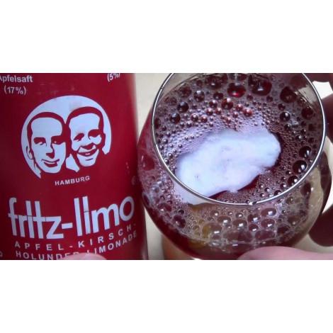 Fritz-Limo 0,33l - Jabłko-Wiśnia-Czarny Bez