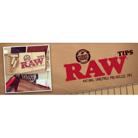 Filterki Tips RAW Prerolled 21szt