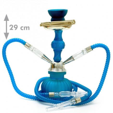 Shisha Oasis Kamala 2W -  29cm niebieska