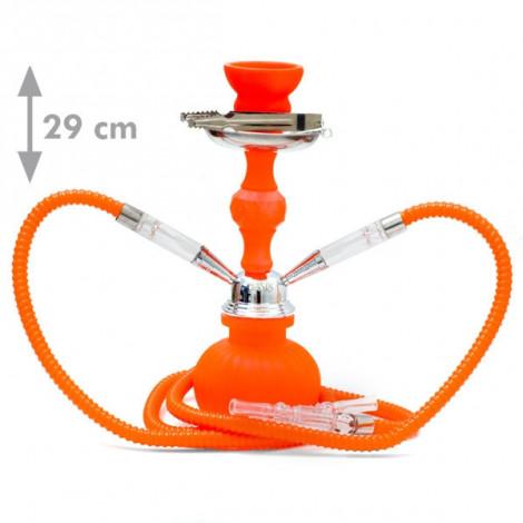 Shisha Oasis Kamla 2W - 29cm pomarańczowa