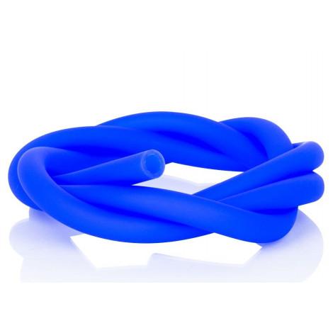 Wąż do Shishy Sylikonowy 150cm - Niebieski