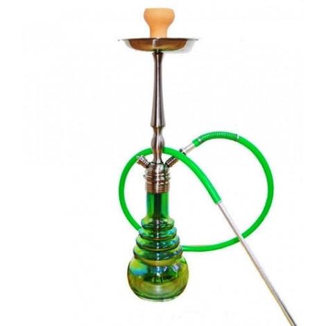 Shisha Aladin XERXES 71cm - Zielona - Żółta