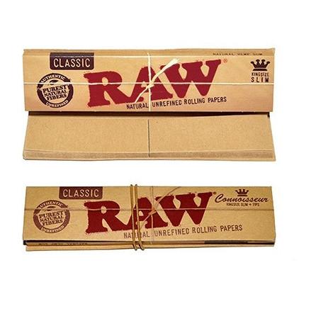 Bibułki RAW Slim + Filterki