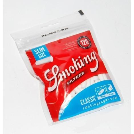 Filterki Papierosowe Smoking Classic - 120szt