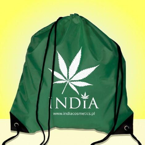 Worek Plecak Logo India - Zielony