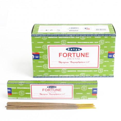 Kadzidełka SATYA - Fortune (Szczęście) 15g