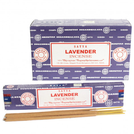 Kadzidełka SATYA - Lavender (Lawenda) 15g