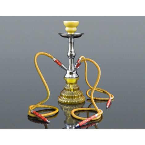 Shisha Pyramid 3 Węże - Żółta 33cm