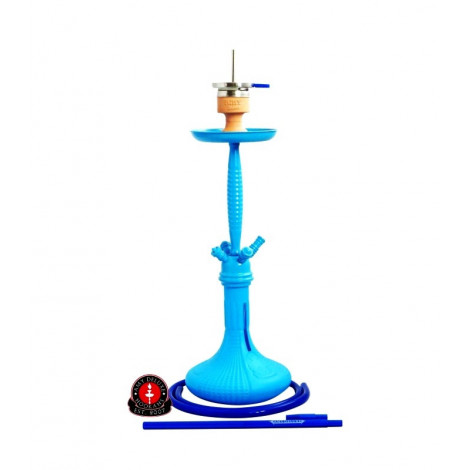 Shisha AMY - 049 Blue Chrome 70cm