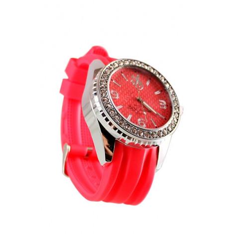 Młynek Metalowy  w Zegarku - Różowy