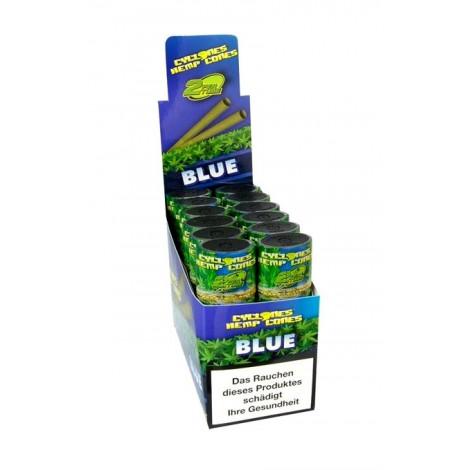Skręcony Wrap Konopny Cyclones 2szt - Blue (Jagoda)