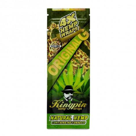 Kingpin Konopny Wrap 4szt - ORIGINAL (czysta Konopia)
