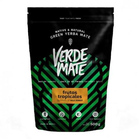 Yerba Mate - VERDE MATE Frutos Tropicales 0,5kg