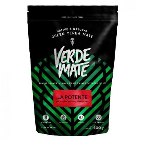 Yerba Mate - VERDE MATE La Potente 0,5kg