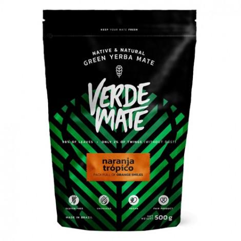 Yerba Mate - VERDE MATE Naranja Tropico 0,5kg