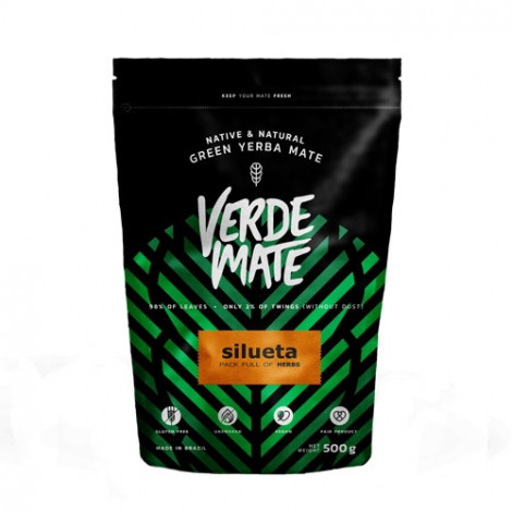 Yerba Mate - VERDE MATE Silueta 0,5kg