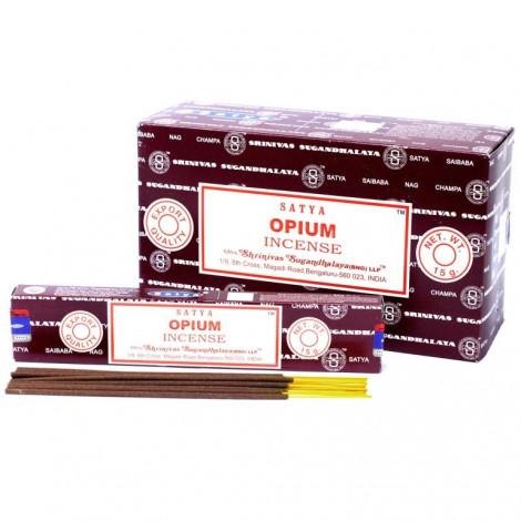 Kadzidełka SATYA -  Opium 15g