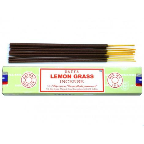 Kadzidełka SATYA -  Lemon Grass (Trawa Cytrynowa) 15g