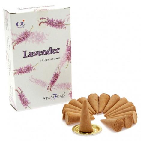 Kadzidełka Stożkowe STAMFORD - Lavender