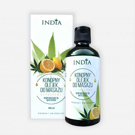 Naturalny Olejek Do Masażu - Cytrynowy - 100 ml