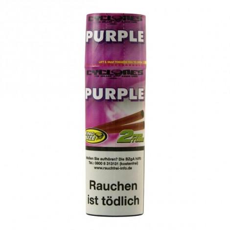 Skręcony Wrap Cyclones 2szt - Purple (Winogrono)