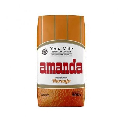 Yerba Mate - Amanda Naranja Pomarańczowa - 0,5kg