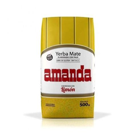 Yerba Mate - Amanda Limon Cytrynowa - 0,5kg