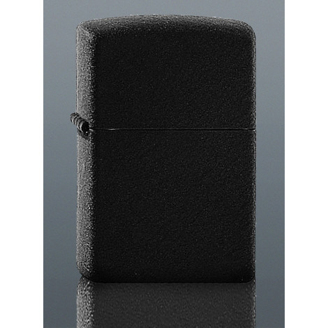 Zapalniczka ZIPPO Black Crackle - Czarna Strukturyzowana