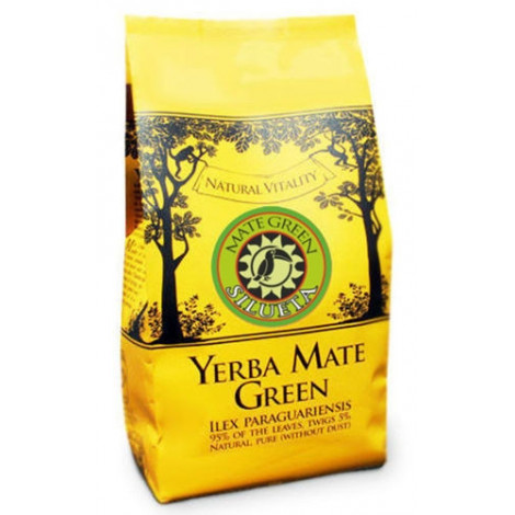 Mate Green SILUETA - 400 g.