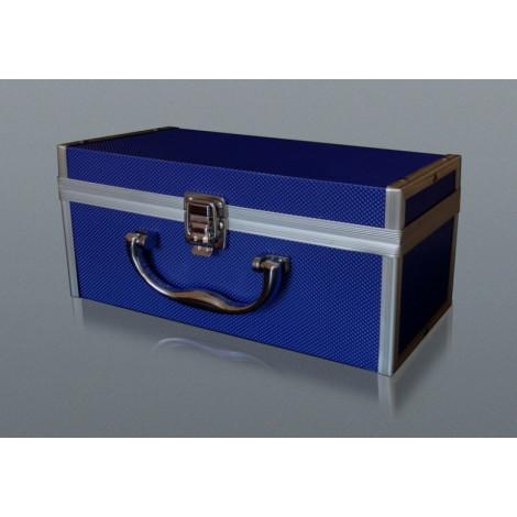 Kuferek Box na Fajkę Wodną - Niebieski Duży