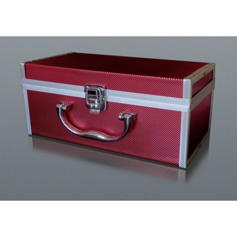 Kuferek Box na Fajkę Wodną - Czerwony Duży