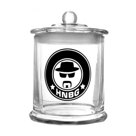 Szklany Pojemnik na Weed HEISENBERG XL