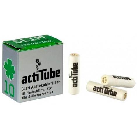 Filtry Węglowe ActiTube Slim - 10szt
