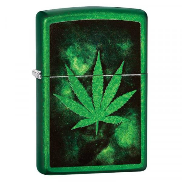 Zapalniczka ZIPPO Green Leaf Design