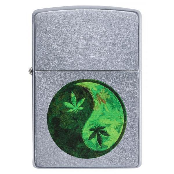 Zapalniczka ZIPPO Yin Yang Marijuana Design