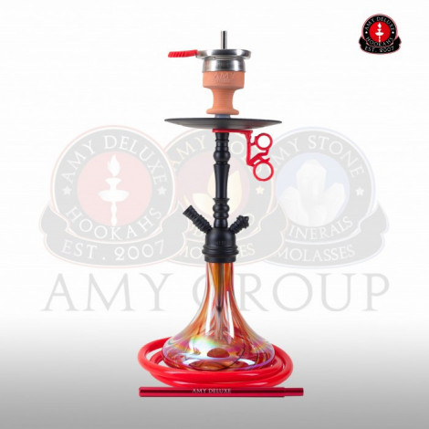 AMY Shisha - Middle Globe Red (056) 60cm