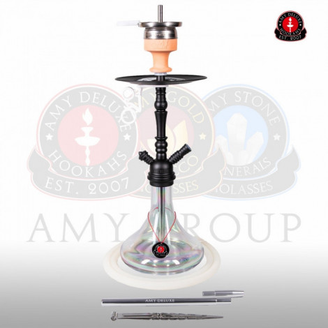 AMY Shisha - Middle Globe Clear (056) 60cm