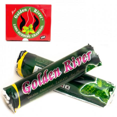 Węgielki smakowe aromatyzowane - Mięta 1 rolka - 33mm