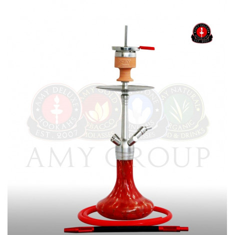 AMY Shisha SS11 - Little Feather Red 62cm