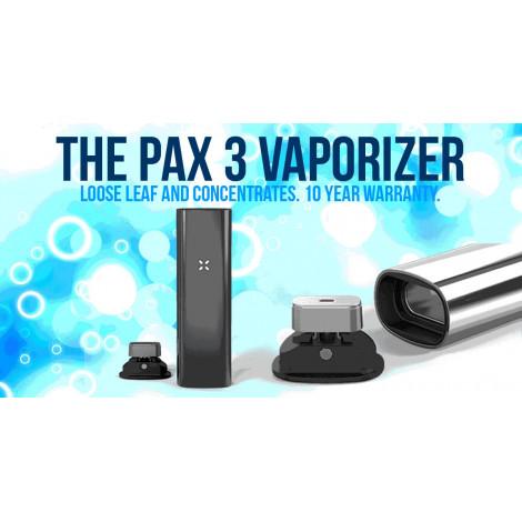 Vaporizer PAX 3 Complete Set - Srebrny
