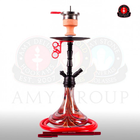AMY Shisha - Middle Zoom Red (058) 55cm
