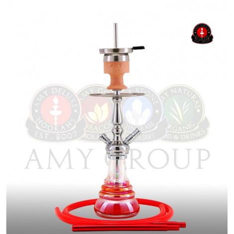 AMY Shisha - Litte Zuri Rainbow Red (340) 47cm