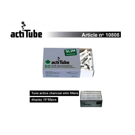 Filtry Węglowe ActiTube Slim - 50szt