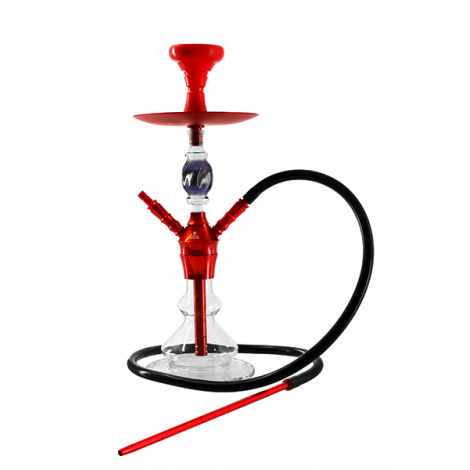 SHISHA KAYA ELOX 580 Boro - Cut MAGIC Red 2S 54cm